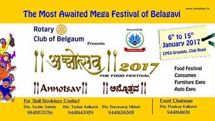 "Annual Food Festival ""Annotsav 2017"""