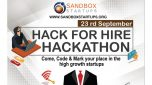 Hack for Hire - Hackathon Event on 23rd of September at KLS IMER , Belagavi.
