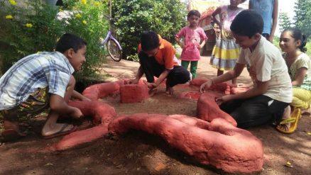 Belagavi's unique tradition has kids building miniature forts