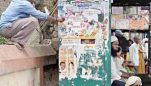 Code of Conduct in Place   Poll posters, banners, hoardings removed from Belagavi streets