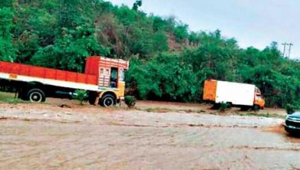 Belgaum | One dead in Belagavi's flash flood near NH4 Bhutramatti