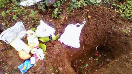 Belgaum | Police trace parents who tried to bury baby alive | Story turns out to be different