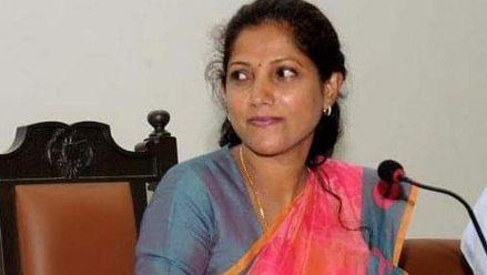 Pushpa Amarnath is new Karnataka Mahila Congress president replacing Laxmi Hebbalkar