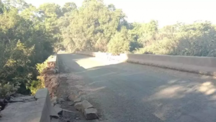 Century-old bridge on verge of collapse