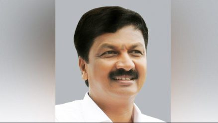 Ramesh Jarkiholi who was out of reach past few days, returns to Gokak only to leave again