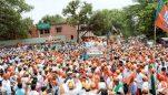 Suresh Angadi files nomination papers