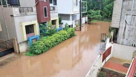 Incessant rain hits life in Belagavi city
