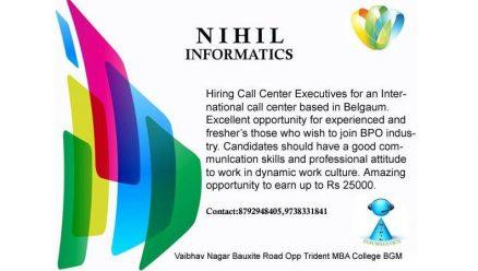 Hiring Executives for International Call Center Belgaum