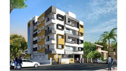 Nievo Meridian | Premium Apartments in Hindwadi Belgaum | Architect - Nitin A. Shirgurkar.