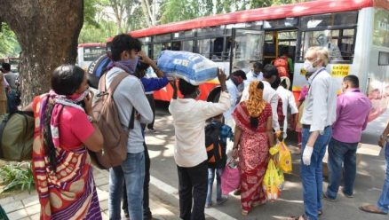 Rajasthan labourers in Belagavi sent home in buses